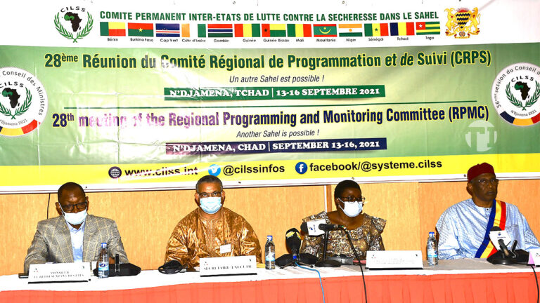 Tchad : lancement de la 28e réunion ordinaire du Comité régional de programmation et de suivi du CILSS
