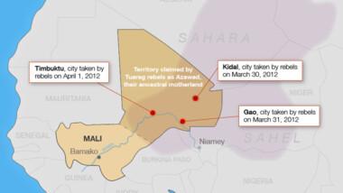 Mali : arrestation de 7 terroristes dans la région de Tombouctou