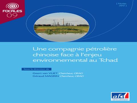 Tchad: amende pour une compagnie pétrolière chinoise