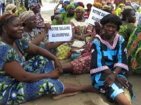 Les travailleurs tchadiens en grève pour réclamer le salaire de juin