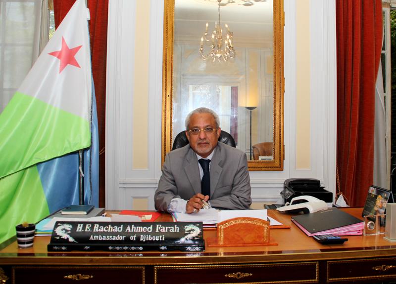 UNESCO: L'ambassadeur de Djibouti en France, candidat de l'Afrique et du monde musulman
