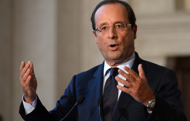 Le président français François Hollande déclare qu'il ne sera pas candidat à la présidentielle 2017