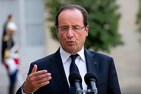 Il n'est pas facile d'être président français