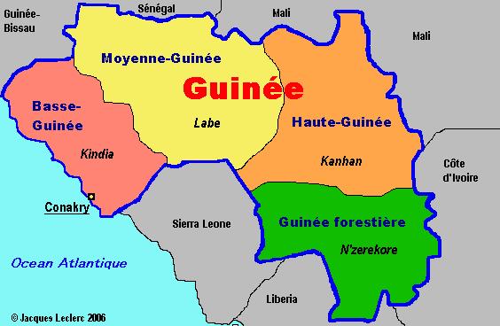Violences inter-ethniques en Guinée: plus de 50 corps identifiés