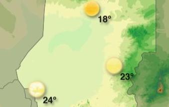 Prévisions météo de la semaine pour N'Djamena – Tchad