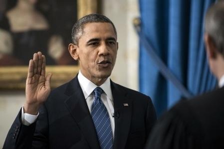 Barack Obama prête serment et appelle à l'action et à l'union