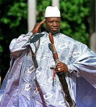 Gambie: Yaya Jammeh impute le problème d'érection de beaucoup de Gambiens aux blancs