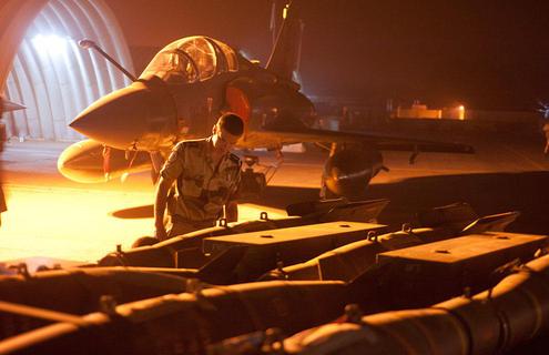 Deux Mirage 2000 français partis de N'Djamena à la recherche de l'avion disparu d'Air Algérie