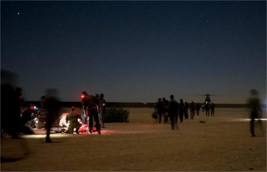 Mali : 66 blessés tchadiens ont été pris en charge par le dispositif médical de l'armée française