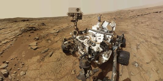 Curiosity procède à un premier forage du sol sur Mars
