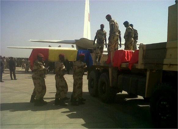 Vidéo : Images des 26 soldats tchadiens tombés au Mali