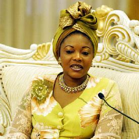 Congo: les présidents des Assemblées de Côte d' Ivoire et du Bénin sur la tombe d' Edith Bongo