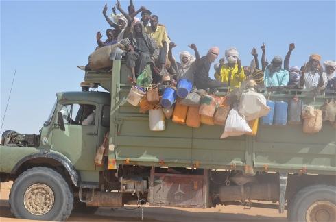 Flux migratoire : Faya, Kalait et Zouarké, principales villes de transit des migrants