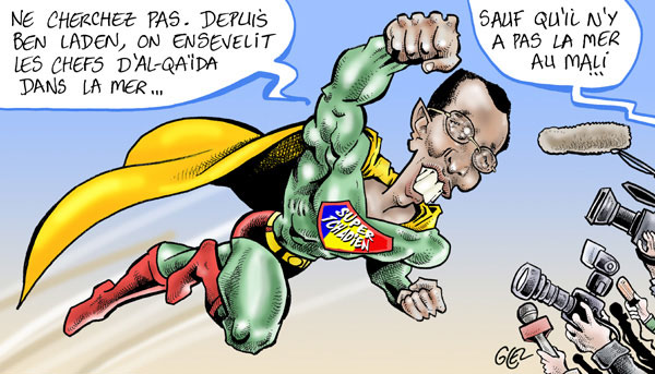 Mali : Super Deby en première ligne