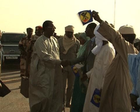 Tchad: Le président Deby est à Faya
