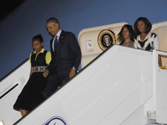 Sénégal : arrivée du président Barack Obama à Dakar