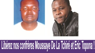 Tchad: Signez la pétition pour la libération de nos confrères journalistes emprisonnés à Amsinene