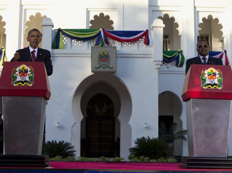 « L'Afrique devrait construire l'Afrique pour les Africains » Barack Obama