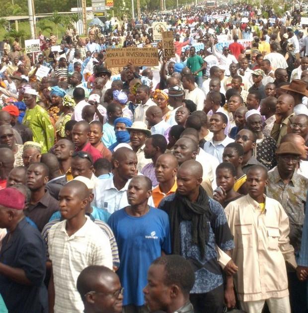 Tchad: une marche de célébration de l'arrestation de Habre a eut lieu dans la journée