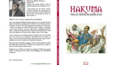 "A lire  : ""Hakuma"" pièce de théatre d'Augustin Tabo"