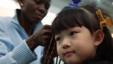 Une coiffeuse africaine à la conquête de la Chine