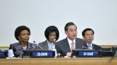 Le ministre chinois des AE présente les avantages pour développer les relations avec l'Afrique