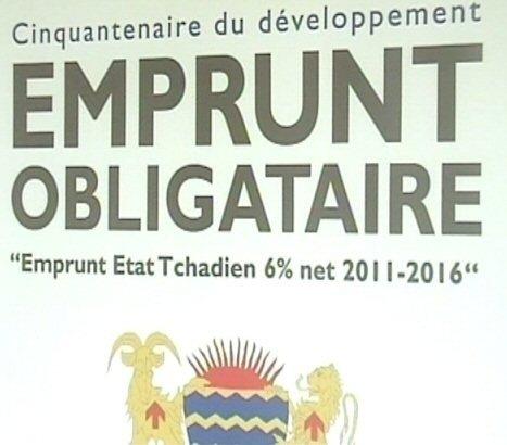 Tchad : lancement d'un emprunt obligataire d'un montant de 85 milliards F CFA