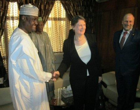 Tchad: rencontre entre Helen Clark et Moussa Faki Mahamat