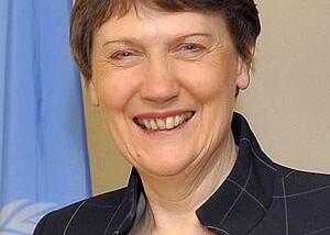 Helen Clark administratrice du PNUD est en visite au Tchad
