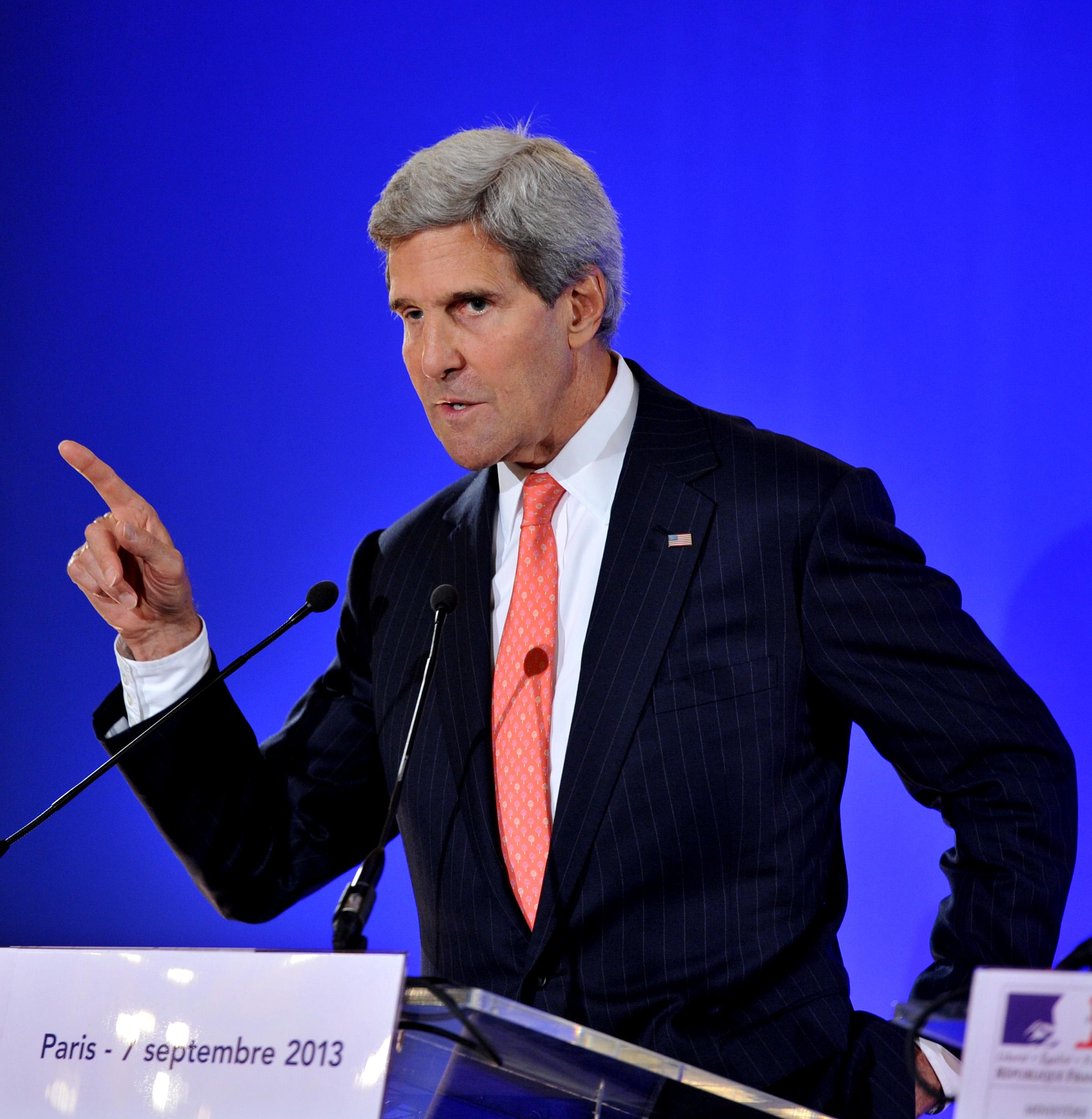 Les Etats-Unis et la Russie se mettent d'accord sur un plan concernant l'arsenal chimique syrien