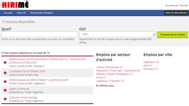 Hirimé, la première plateforme de recherche d'emploi made in Tchad