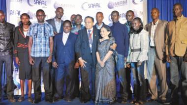 Le Kenyan Premchand Chandaria lauréat des Prix 2013 Afrique de l'entrepreneuriat