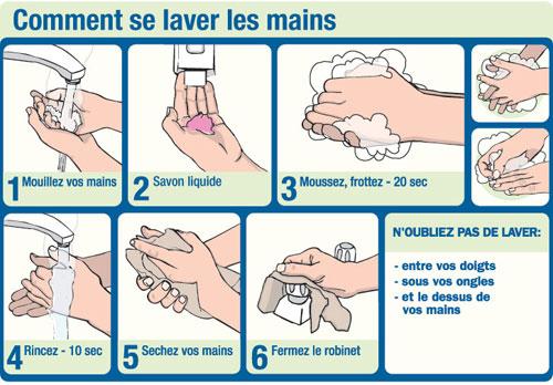 Tchad: le gouvernement sensibilise la population au lavage des mains