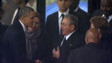 Cuba optimiste quant à la poignée de main historique entre Obama et Castro