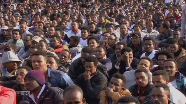 Plus de 30 000 migrants africains manifestent à Tel-Aviv