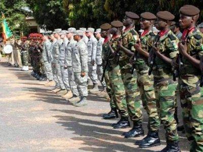 Tchad : lancement de l'exercice militaire multinational Flintlock