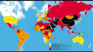 Classement mondial de la liberté de la presse 2014 : le Tchad perd 17 places et se retrouve 139e sur 180