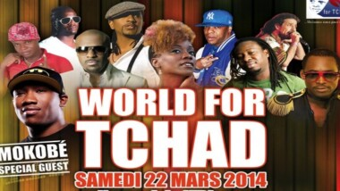 Concert World for Tchad le 22 Mars à N'djamena (Tchad)