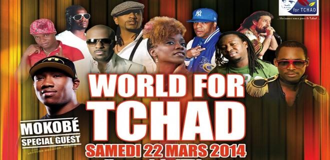 Concert World for Tchad le 22 Mars à N'djamena (Tchad)