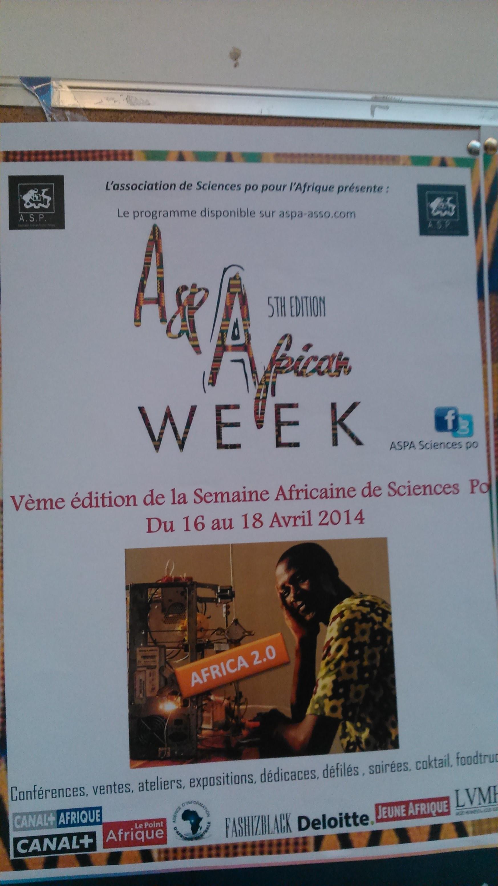 La semaine africaine à Sciences Po Paris