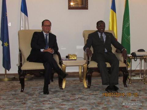 Un an de coopération franco-tchadienne renforcée