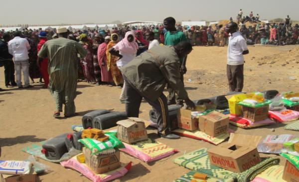 Tchad/Ramadan : distribution de 199 tonnes de vivres à plus de 12.000 ménages vulnérables