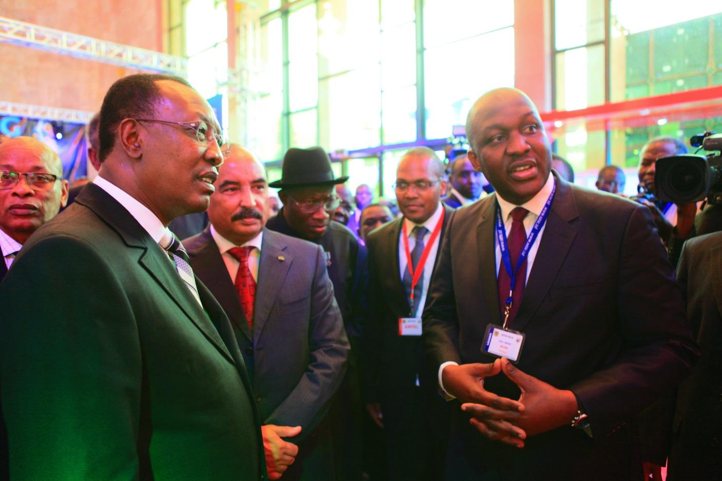 Airtel-Tchad a lancé sa connexion internet à haut débit (HSPA ou 3G+) lors du SITIC