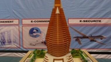 Pose de la 1ere pierre du Centre africain des technologies de l'information (CATI) à N'Djamena