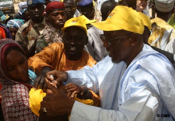 Tchad : lancement d'une vaste campagne de vaccination contre la poliomyélite