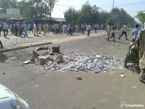 Tchad : une vingtaine d'étudiants arrêtés lors de la manifestation de ce matin