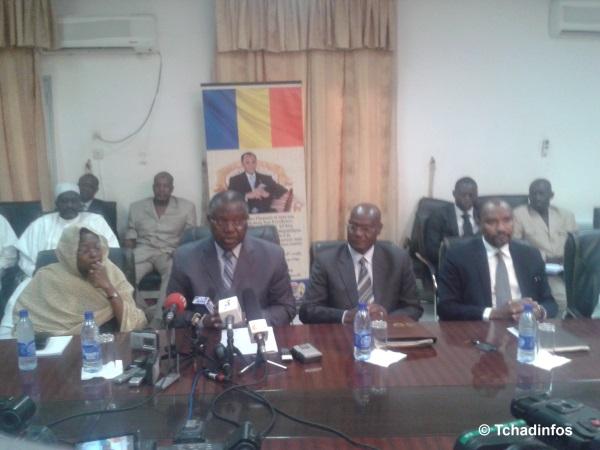 Tchad: point de presse du gouvernement sur les manifestations de ce matin