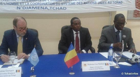 Tchad : célébration de la 64e journée des Droits de l'Homme