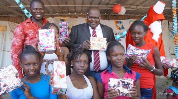 Tchad : 400 orphelins et enfants de la rue ont reçu un repas de Noël