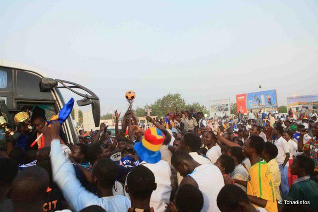 Le Tchad accueille en grande pompe ses champions